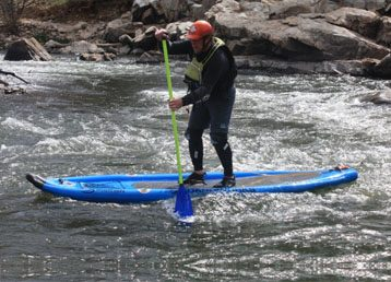 Don Jamieson Sea to Sky Kayaking Stand Up Paddleboard SUP Training Courses Lessons in North Vancouver